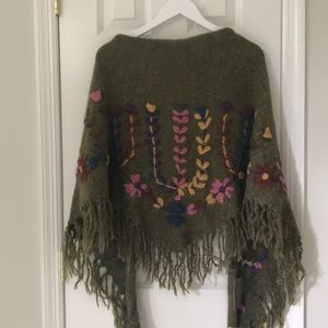 NWT Anthropologie Shawl